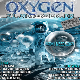 Oxygen Party in Le Clan Prague
